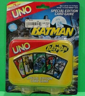 Classic Batman Animated Series Uno Special Edition Card Game - DC Comics Q6