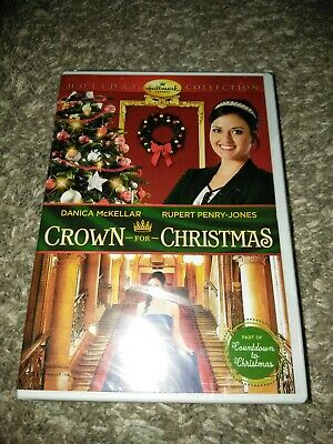 CROWN FOR CHRISTMAS New Sealed DVD Hallmark Channel Danica McKellar