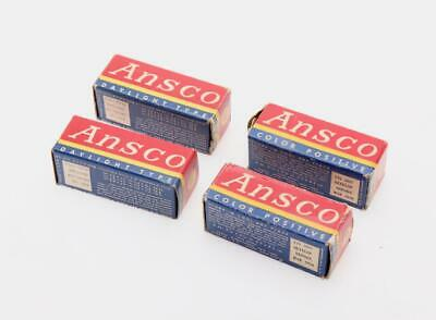 Ansco 620 Color Daylight Film   (4Rolls)