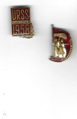 Pins Badge USSR Representative on EXPO 58 Brussels World's Fair