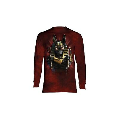The Mountain Adult Anubis Soldier Longsleeve T Shirt