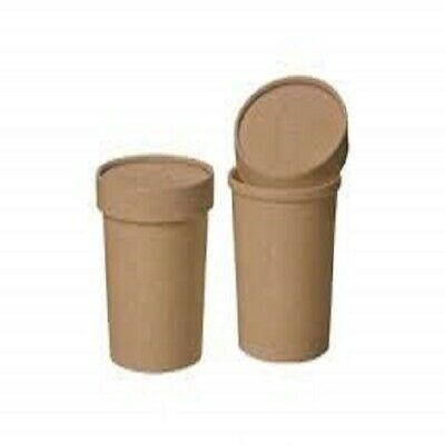 12oz Brown Soup Container bundle with Matching Brown Lids