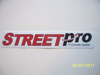 "Original  Racing  Decals  "" Street  Pro  ""  9 ""  X  1.5/8  ""   #2"