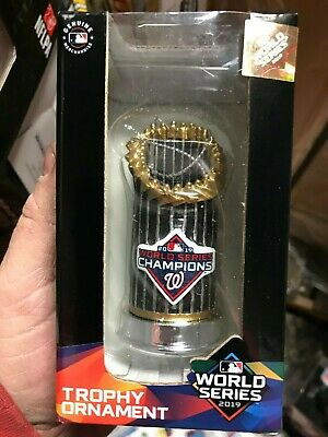 Washington Nationals 2019 World Series Champions Trophy Ornament