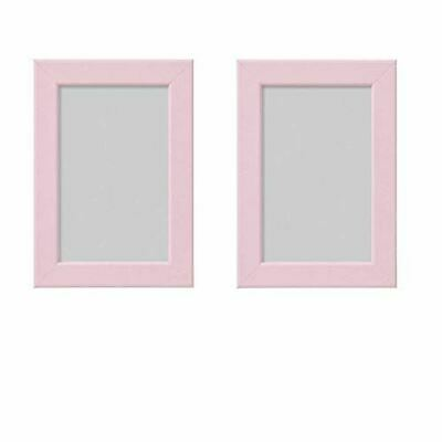 "FISKBO Frame 4x6"" A variety of colors to choose from (Set of 2 Frames) (Pink)"