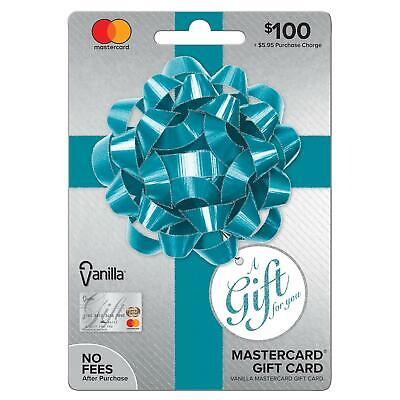 $100 Gift Card. Activated, No Additional Fees.  Ready to Use! Free Shipping!!