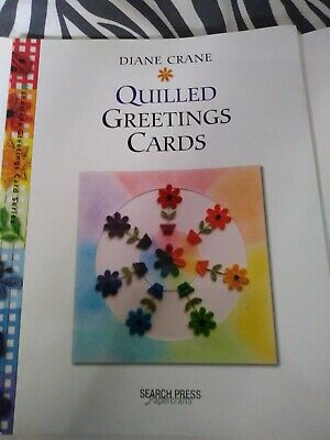 Diane crane Quilled greeting cards