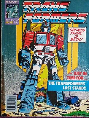 Transformers G1 Issue 331, Rare