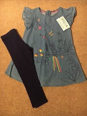 Marks And Spencer Girls 2 Piece Outfit Age 3-4 Years