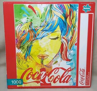 2015 Coca-Cola Life Tastes Good Puzzle w/Poster~1000 Pieces~Buffalo~New/Sealed