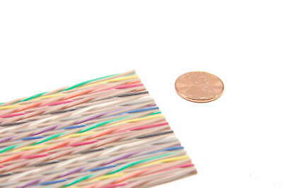 """Amphenol Spectra Strip - 455-248-50 - Twisted 'N' Flat Cable 28-50C. """"10 Foot"""""""