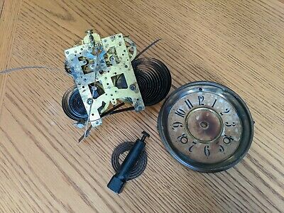 New Haven USA Made Vintage Antique Clock for Parts Wind Mechanical Collectable