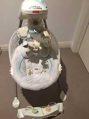 Fisher-Price Lil Lamb Cradle Swing