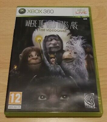 Where The Wild Things Are, Xbox 360, Excellent Condition, L@@K, Fast Dispatch