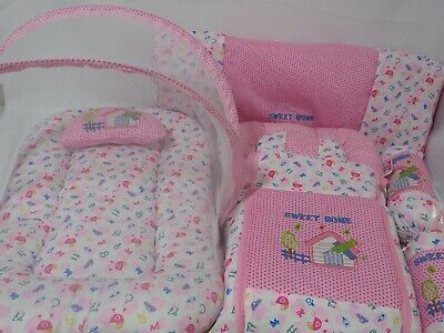 7 Piece Baby nest Bed For Girl