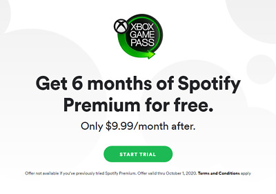 6 Month Trial Membership - Spotify Premium Subscription - $60 Value