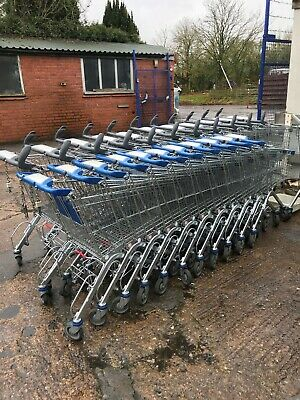 Supermarket shopping Trolley picking warehouse