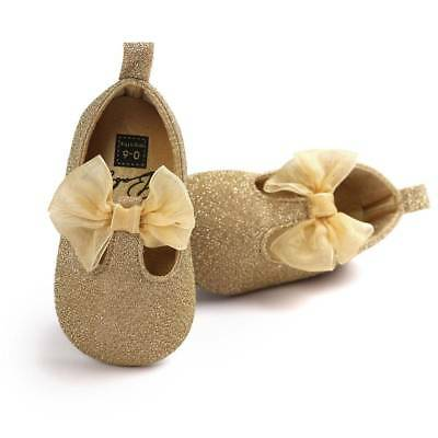 Newborn Toddler Baby Cotton Sequin Infant Soft Sole Shoes Soft Bottom Girl Shoes