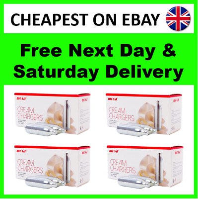 Whipped Cream Chargers Nitrous Oxide Free Next Day Delivery 7x8g