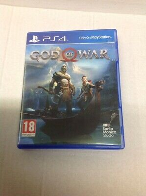 PlayStation 4 Game ,Sony PS4 Game , God Of War .