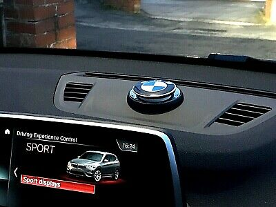 BMW Logo  Air Car Freshener Holder + 1 x Fragrance Ring, Free UK P&P, UK SELLER.