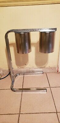 Electric Food Warmer Dual Heat Heating Lamp Warmer Stand NSF Approved
