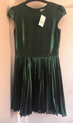 Next Girls Pleated Dress Size 12 BNWT