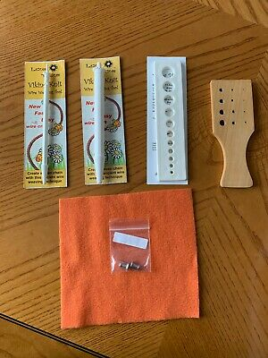 Lazee Daizee Viking Knit Wire Weaving Tool 1/4 & 1/2 Inch, 2 Drawplates, Cloth