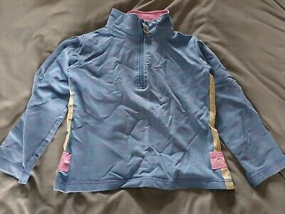 Joules Girls Jumper Half Zip Sweatshirt Top Age 8 - 9 years