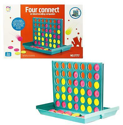 Connect 4 In a Row Classic Grid Family Trips Travel Traditional Board Game UK