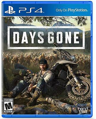 Days Gone PS4 (Sony PlayStation 4, 2019) Brand New Region Free
