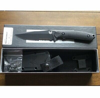Benchmade Protagonist 169SBK Fixed Blade Serrated Combo Edge, Kydex Sheath, New