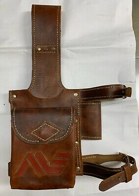 Custom Leather Metal Detecting Finds Treasure Pouch Brand New