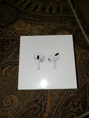 Apple AirPods Pro - White NEW! Noise Canceling with Wireless Charging Case