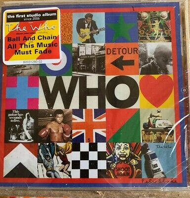 The Who - Who - Brand New & Factory Sealed CD - Fast Free First Class Shipping