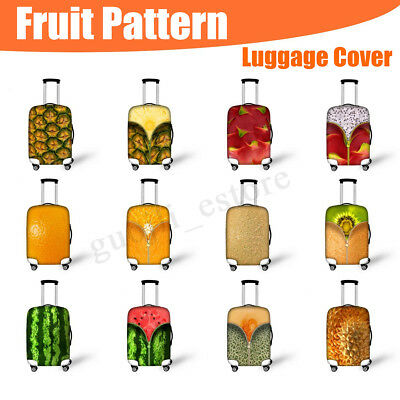 Fruit Style Luggage Cover Elastic Travel Suitcase Dustproof Protector Bag Cover