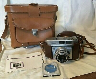 Vintage Kodak Retinette II 35mm Camera in Cases made in Germany