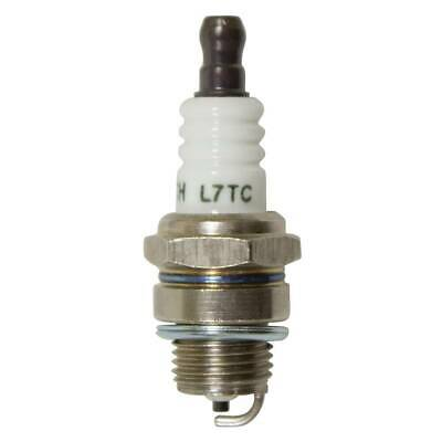 Gold-plated Spark Plug L7TC For Lawn mower Chainsaw Engine Parts New ODHN