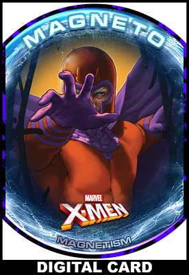 Topps Marvel Collect Magneto OMEGA LEVEL WEEKLY #1 [DIGITAL CARD]