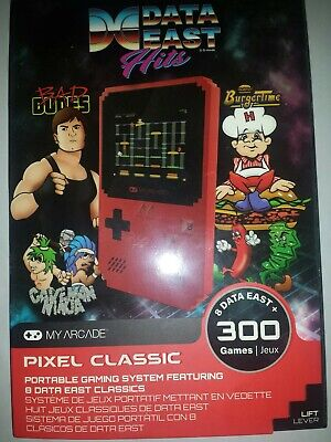 My Arcade Data East Hits Portable Handheld With 300 Built In Games