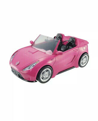 Barbie Glam Cruise Convertible Signarure Pink Car With Seat Belts