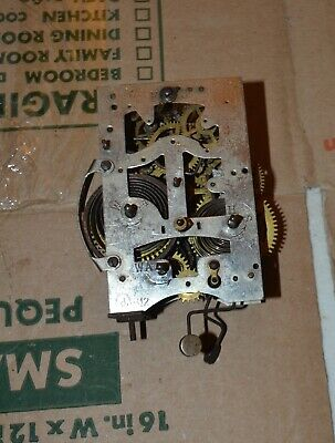 Junghans B12 clock movement For parts or restoring