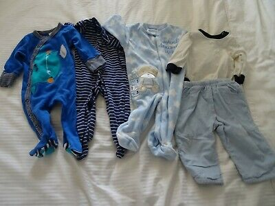 Bundle Of Boys Clothing Age 3-6 Months Includes Marks And Spencer Baby Grow
