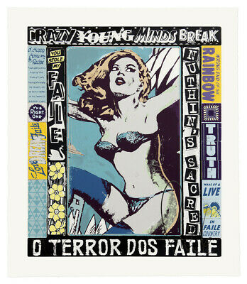 The Right One Happens Everyday : Faile : Screen Print : Signed/Numbered : Obey