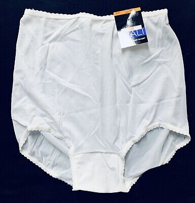 NWT Lot 4 Pairs Bali White Skimp Skamp Full Coverage Panties V633 New with Tags