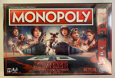 STRANGER THINGS Monopoly Property Trading Game Netflix Official Merchandise