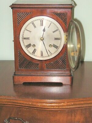 Wm.pike & Son Watch Makers To The Admiraly Bracket  Clock Circa 1912