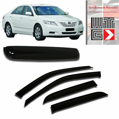 Vent Outside Mount Window Visor Sunroof Type2 5pc T2 For Toyota Camry 07-11 4D