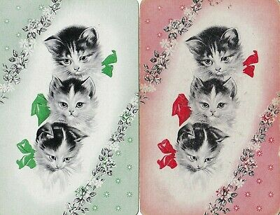 Swap Playing Cards x 1 pair   Cats