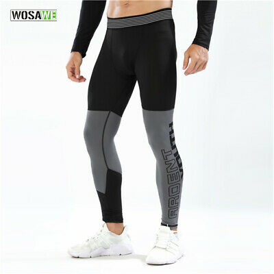 Men's Compression Pants Running Training Skin Tights Base Layer Workout Sports